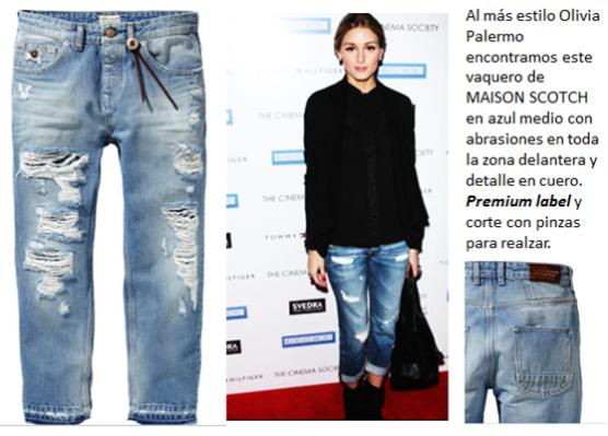 Nos quedamos con estos pantalones vaqueros de Maison Scotch, en color Rebelle Blue. 129,95€ en su página web