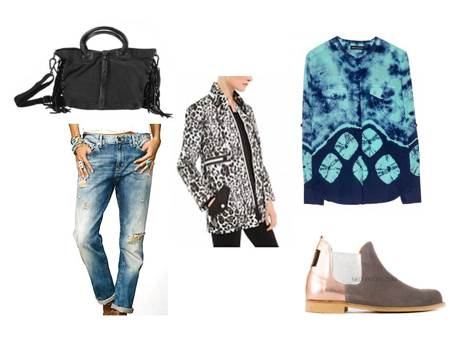 daily style ANIMAL BLUE