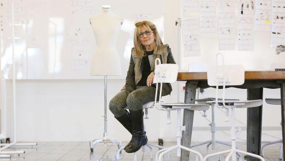 Sita Murt en su estudio Igualada. Susana Sáez, El Pais