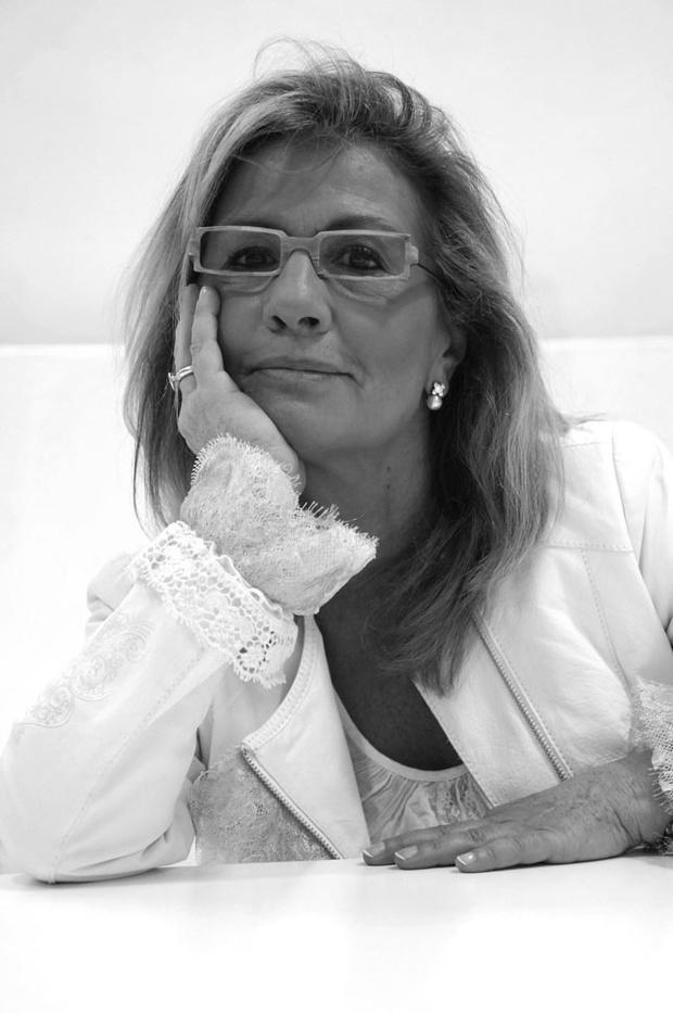 La diseñadora y empresaria catalana, Sita Murt, siempre serena, siempre luchadora.