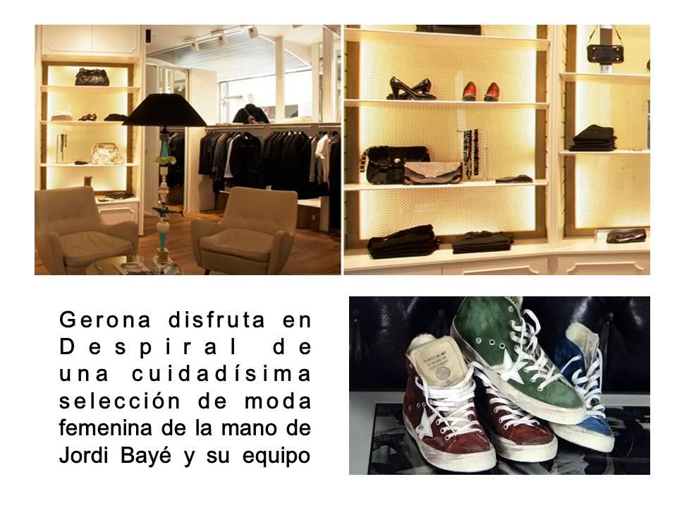 Preciosa tienda en el centro de Girona. (fotos web Despiral Woman) www.despiral.com
