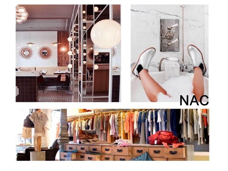 Siempre sorprendentes y las tiendas de NAC ya son una familia que agrupa tendencias en diferentes puntos emblemáticos de la ciudad. C/Génova 18  entre otros. (fotos NAc Madrid, Instagram)