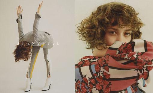 Imagen de su colección Primavera Verano 2015 de la web del diseñador , www.juanvidal.net